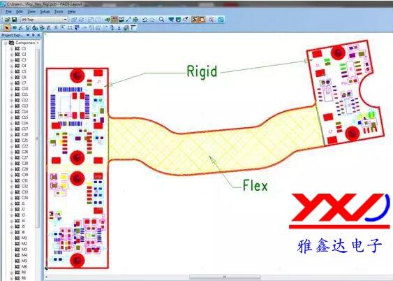 图 4:刚性/柔性电路板允许最大限度地利用可用空间