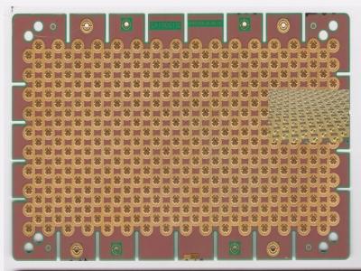 2层立体高低铜板